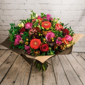 Autumn Leaves Hand-Tied