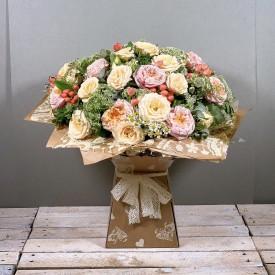 Signature Garden Rose Bouquet