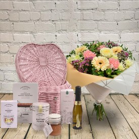 Pastel Rose & Germini Gift Set