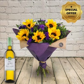 Summer Breeze & Wine Gift Set
