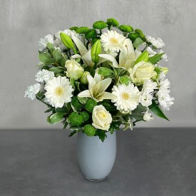 White Simplicity Hand-Tied