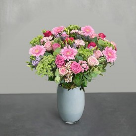 Pink Perfection Hand-Tied