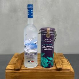 Grey Goose Vodka & Salted...