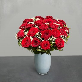 The Flower Of Love - 24 Red