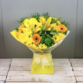 Yellow Simplicity Hand-Tied